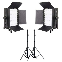 LedGo CN-900HS LED studioverlichting set